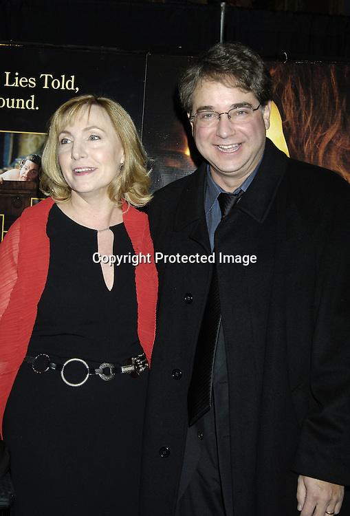 "Producer Leslie Holleran and husband Andrew Mondshein ..the Editor of the Movie ..at a Special Screening of "" Casanova"" on December 11, 2005 at The Loews Lincoln Square Theatre. ..Photo by Robin Platzer, Twin Images"