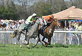 Air Maggy wins the WC Jackson training flat race at Ford Conger Field, Aiken, S.C. 3/20/10 for owner Magalen O. Brayant,trainer Jonathan Sheppard, and jockey Brian Crowley. Virginia Minstrel finished second; Ascertain was third.
