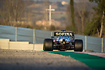 ROKiT Williams Racing, George Russell, takes part in the tests for the new Formula One Grand Prix season at the Circuit de Catalunya in Montmelo, Barcelona. February 19, 2020 (ALTERPHOTOS/Javier Martínez de la Puente)