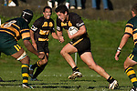 "Shawn Stewart is all determination as he tries to step Manoa Lesavua. CMRFU Counties Power ""Game of the Week' between Bombay & Pukekohe played at Bombay on Saturday 17th May 2008..Pukekohe led 15 - 0 at halftime & went on to win 42 - 5."