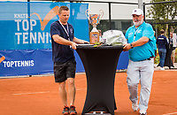 Amstelveen, Netherlands, 1 August 2020, NTC, National Tennis Center, National Tennis Championships, Men's final: Trophy table<br /> Photo: Henk Koster/tennisimages.com