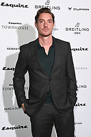 Max Brown<br /> arriving for the Esquire Townhouse 2019 launch party, London.<br /> <br /> ©Ash Knotek  D3528 16/10/2019