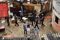 São Paulo (SP), 09/04/2019 - Reintegração / Posse - Policia Militar realizam reintegração de posse em terreno no bairro Cidade Nova Heliópolis, na zona sul de São Paulo, na manhã desta terça-feira, 09. (Foto: Amauri Nehn/Brazil Photo Press)
