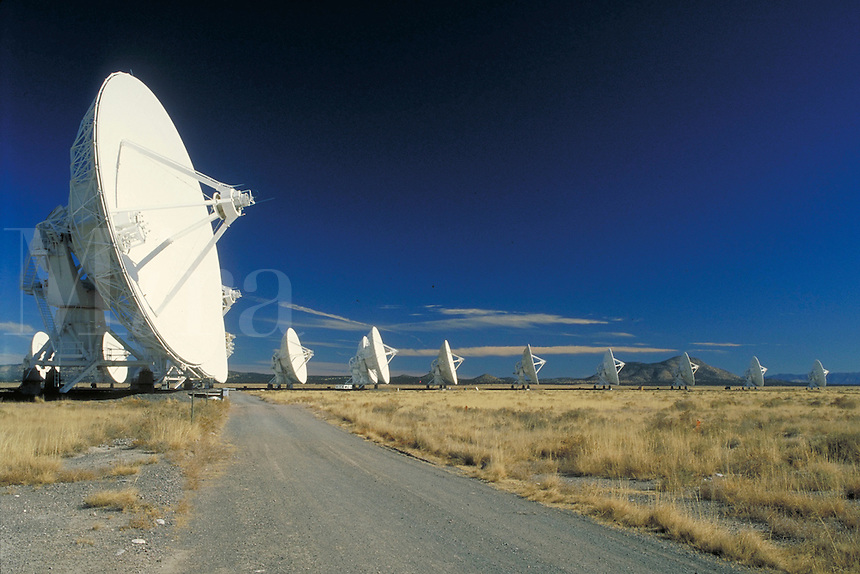 Very Large Array (VLA). New Mexico, Plains of San Agustin.