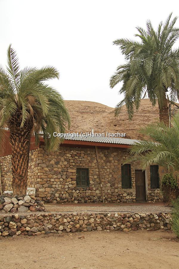 Israel, Eilat Mountains, Williams House in Nahal Shlomo