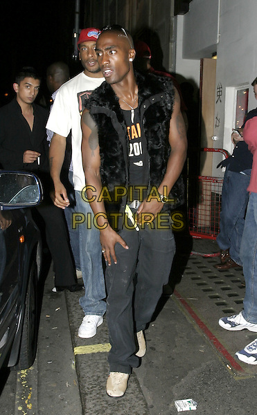 SIMON WEBB.Leaving Chinawhites night club, London, 4th August 2004..full length.Ref: AH.www.capitalpictures.com.sales@capitalpictures.com.©Capital Pictures.