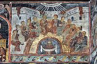 BG61229.JPG BULGARIA, BLACK SEA COAST, NESSEBAR, CHURCH OF ST STEPHAN, 10TH CENTURY, FRESCOS