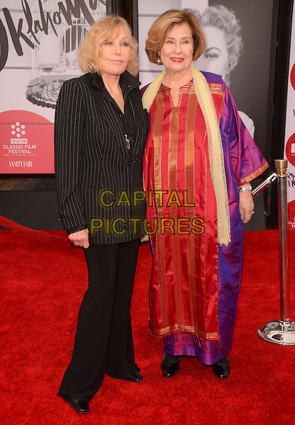 10 April 2014 - Hollywood, California - Kim Novak, Diane Baker. Arrivals for the world premiere of the restoration of &quot;Oklahoma&quot; held at the TCL Chinese Theatre IMAX in Hollywood, Ca.  <br /> CAP/ADM/BT<br /> &copy;Birdie Thompson/AdMedia/Capital Pictures
