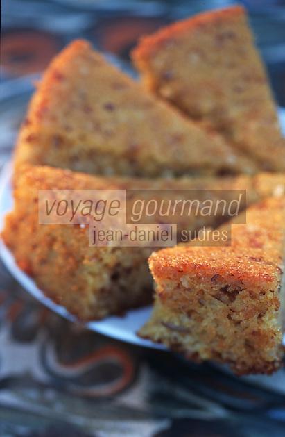 """Europe/Chypre/Env de Polis: Gâteau de semoule à l'orange - Dessert chypriote de """"l'Anassa Hotel"""""""