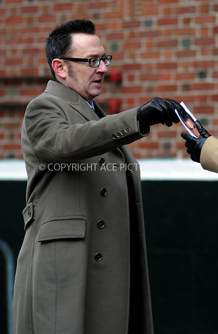 WWW.ACEPIXS.COM . . . . .  ....January 13 2012, New York City....Actor Michael Emerson on set of the TV show 'Person of Interest' on January 13 2012 in New York City....Please byline: CURTIS MEANS - ACE PICTURES.... *** ***..Ace Pictures, Inc:  ..Philip Vaughan (212) 243-8787 or (646) 679 0430..e-mail: info@acepixs.com..web: http://www.acepixs.com