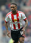 Jermain Defoe of Sunderland during the Barclays Premier League match at the Stadium of Light, Sunderland. Photo credit should read: Simon Bellis/Sportimage