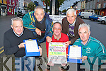 Castleisland Race committee who are holding Kerry's only Drive in bingo in Castleisland Marton Sunday 11 September l-r: John Ryan, Willie Reidy, Pat Hartnett, Tom Sullivan and Charlie Farrelly..