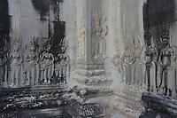 Angkor Wat near Siem reap Cambodia