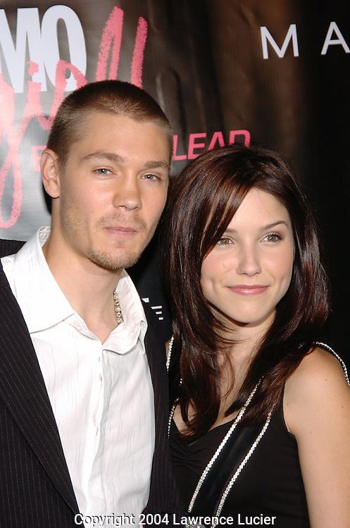 Chad Michael Murray and Sophia Bush