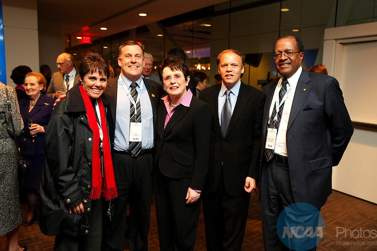 2009 Jan 15: The NCAA Honors Celebration at the Newseum in Washington D.C. during the 2008 NCAA Convention at the Gaylord National Resort and Convention Center in National Harbor, MD.  ©Trevor Brown, Jr./NCAA Photos.