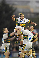 Twickenham. GREAT BRITAIN, Saints, Sub, Mark EASTER, collects the line out ball, during the  Guinness Premiership game between, NEC Harlequins and Northamption Saints, on Sat., 04/11/2006, played at the Twickenham Stoop, England. Photo, Peter Spurrier/Intersport-images].....