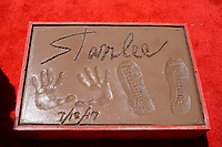 Stan Lee's Hand and Footprints Ceremony am TCL Chinese Theatre Hollywood. Los Angeles, 18.07.2017
