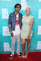 Wiz Kalifah and Amber Rose at the 2012 MTV Movie Awards held at Gibson Amphitheatre on June 3, 2012 in Universal City, California. © mpi29/MediaPunch Inc.