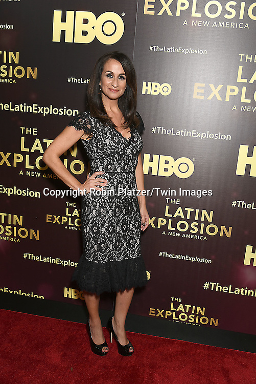 Audrey Puente attends the HBO premiere of &quot;The Latin Explosion: A New America&quot; on November 10, 2015 at the Hudson Theater in New York City, New York, USA.<br /> <br /> photo by Robin Platzer/Twin Images<br />  <br /> phone number 212-935-0770