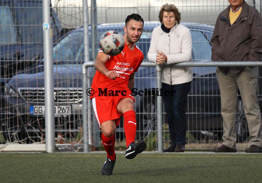 Adem Cakir (Büttelborn) - Büttelborn 03.10.2018: SKV Büttelborn vs. SV Bürstadt