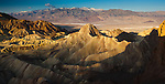 Manly Beacon, Golden Canyon, Death Valley National Park, Californai