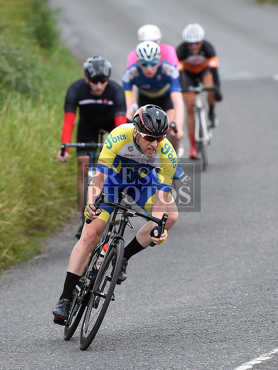 Barry Hughes riding in the first round of the Mark Mullen League hosted by Drogheda Wheelers. Photo:Colin Bell/pressphotos.ie