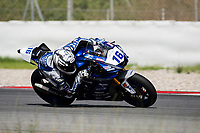 9th July 2020; Circuit de Barcelona Catalunya, Barcelona, Spain; FIM Superbike World Championship Test, Day Two; Jules Cluzel of the GMT94 Yamaha rides the Yamaha YZF R6