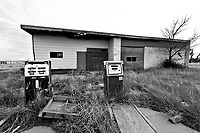 Abandoned Gas Station in Bethune, CO