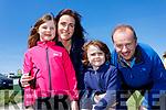 Eve Ní Loingsigh Murray, Muireann Ní Loingsigh Murray, Rios Ó Loingsigh Murray and Chris Murray, enjoying a family day out at the Kingdom County Fair, Ballybeggan racecourse, Tralee, on Sunday last.