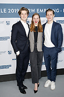 Damian Hardung, Luna Wedler, Max von der Groeben, <br /> ***NRW Reception during the 68th International Film Festival Berlinale, Berlin, Germany - 10 Feb 2019 *** Credit: Action PRess / MediaPunch<br />