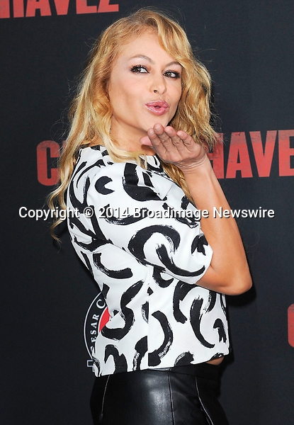 Pictured: Paulina Rubio<br /> Mandatory Credit &copy; Adhemar Sburlati/Broadimage<br /> Film Premiere of Cesar Chavez<br /> <br /> 3/20/14, Hollywood, California, United States of America<br /> <br /> Broadimage Newswire<br /> Los Angeles 1+  (310) 301-1027<br /> New York      1+  (646) 827-9134<br /> sales@broadimage.com<br /> http://www.broadimage.com