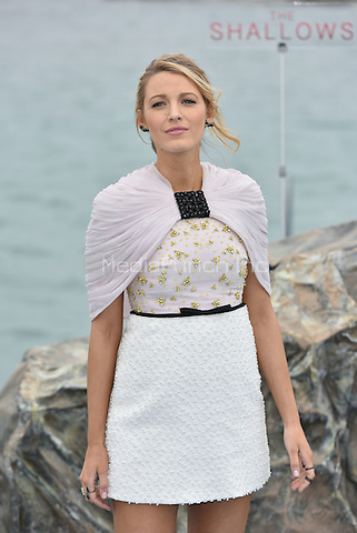 Blake Lively at photocall for 'The Shallows' on the Majestic Pier during the 69th International Cannes Film Festival, France May 13, 2016.<br /> CAP/PL<br /> &copy;Phil Loftus/Capital Pictures /MediaPunch ***NORTH AND SOUTH AMERICA ONLY***