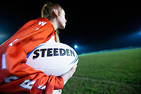 Picture by Allan McKenzie/SWpix.com - 26/02/2019 - Rugby League - CreatedBy RLWC2021 - Castleford Tigers Women - DeLacy Academy, Knottingley, England - Castleford Tigers Women train.