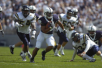 01 September 2007:  Penn State RB Evan Royster (22) scores his first collegiate TD.  Royster ran for 70 yards and a TD.  The Penn State Nittany Lions defeated the Florida International Golden Panthers 59-0 September 1, 2007 at Beaver Stadium in State College, PA..