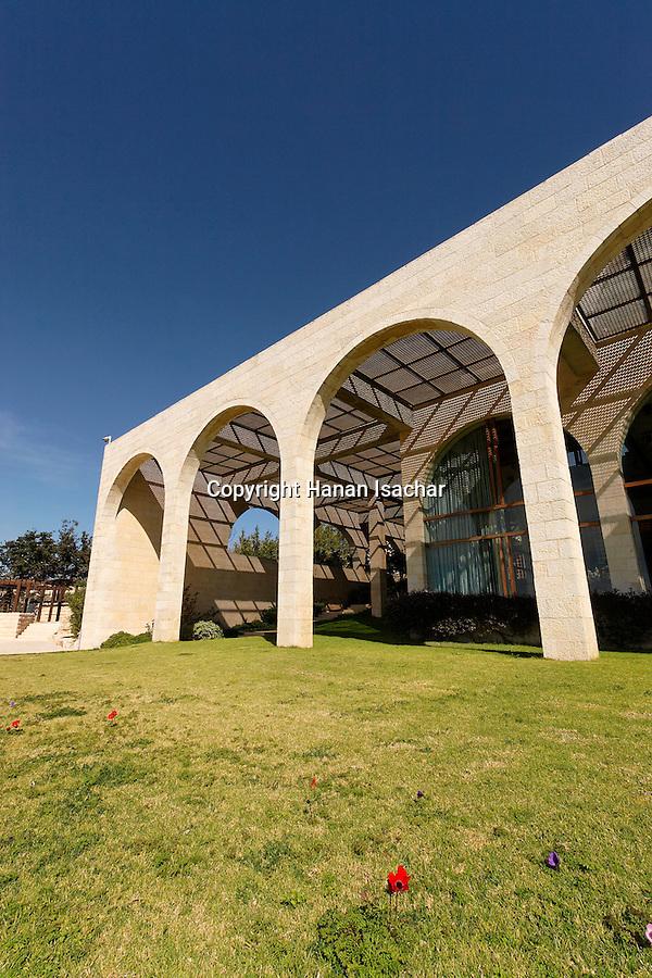 Israel, Jerusalem, The Brigham Young University (Mormon University) on Mount Scopus<br />