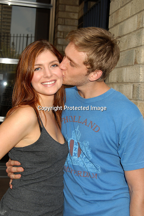 Connie Fletcher and new fiance Aaron Staton..at The All My Children Studio on September 8, 2006. ..Robin Platzer, Twin Images