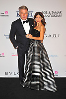 NEW YOKR, NY - NOVEMBER 7: Alec Baldwin and Hilaria Baldwin at The Elton John AIDS Foundation's Annual Fall Gala at the Cathedral of St. John the Divine on November 7, 2017 in New York City. <br /> CAP/MPI/JP<br /> &copy;JP/MPI/Capital Pictures