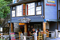 Restaurant in Ucluelet, BC, Vancouver Island, British Columbia, Canada