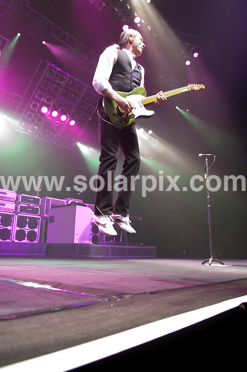 **ALL ROUND PICTURES FROM SOLARPIX.COM**.**WORLDWIDE SYNDICATION RIGHTS**.Status Quo perform live at the Manchester Evening News Arena, Manchester UK. 7th December 2007..JOB REF: 5471 SGD     DATE: 07_12_2007.**MUST CREDIT SOLARPIX.COM OR DOUBLE FEE WILL BE CHARGED* *UNDER NO CIRCUMSTANCES IS THIS IMAGE TO BE REPRODUCED FOR ANY ONLINE EDITION WITHOUT PRIOR PERMISSION*