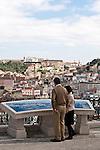 Blick auf die Altstadt, Lissabon, Portugal