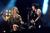 07 June 2019 - Nashville, Tennessee - Joan Jett, Carrie Underwood. 2019 CMA Music Fest Nightly Concert held at Nissan Stadium. <br /> CAP/ADM/DMF<br /> ©DMF/ADM/Capital Pictures