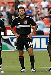 11 August 2004: Ben Olsen during pregame warmups. DC United defeated the Colorado Rapids 3-1 at RFK Stadium in Washington, DC during a regular season Major League Soccer game..