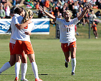 Virginia defeated Maryland 6-1Sunday during the first round of the ACC Tournament  at Klockner Stadium. Photo/Andrew Shurtleff