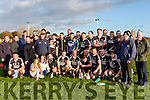Ardfert GAA football team were on home soil last Saturday afternoon to celebrate their victory in the St Brendans board Championship over St Pats of Blennerville.