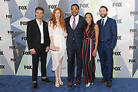 NEW YORK, NY - MAY 14: Riley Smith, Rachelle Lefevre, Russell Hornsby, Nikki M. James, and Vincent Kartheiser at the 2018 Fox Network Upfront at Wollman Rink, Central Park on May 14, 2018 in New York City.  <br /> CAP/MPI/PAL<br /> &copy;PAL/MPI/Capital Pictures