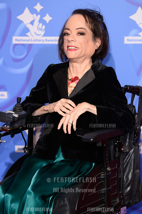 LONDON, UK. September 21, 2018: Liz Carr at the National Lottery Awards 2018 at the BBC Television Centre, London.<br /> Picture: Steve Vas/Featureflash