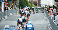 Picture by Allan McKenzie/SWpix.com - 14/07/17 - Cycling - HSBC UK British Cycling National Circuit Series - Velo29 Altura Criterium - Stockton, England - The peloton passes through Stockton.