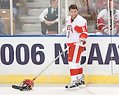 Peter MacArthur (Brad Zancanaro) - The Boston College Eagles defeated the Boston University Terriers 5-0 on Saturday, March 25, 2006, in the Northeast Regional Final at the DCU Center in Worcester, MA.