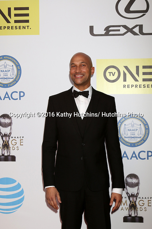 LOS ANGELES - FEB 5:  Keegan-Michael Key at the 47TH NAACP Image Awards Arrivals at the Pasadena Civic Auditorium on February 5, 2016 in Pasadena, CA