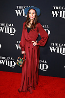 HOLLYWOOD, CA - FEBRUARY 13; Diana Carr at The Call Of The Wild World Premiere on February 13, 2020 at El Capitan Theater in Hollywood, California. Credit: Tony Forte/MediaPunch